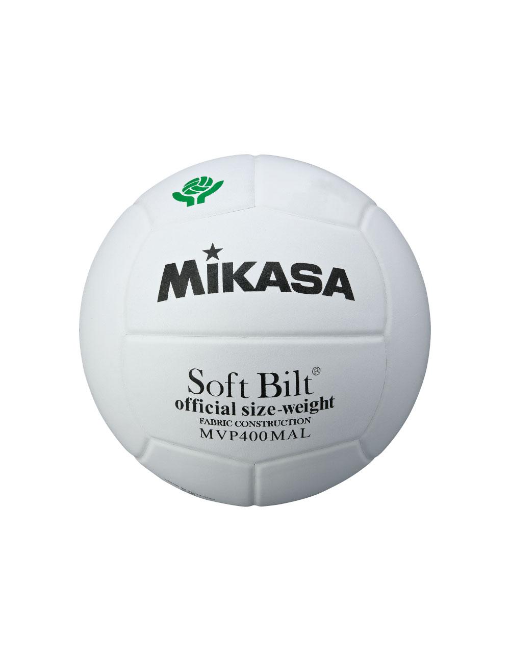 MVP400MAL バレーボール 検定球4号 白 ママさんバレー
