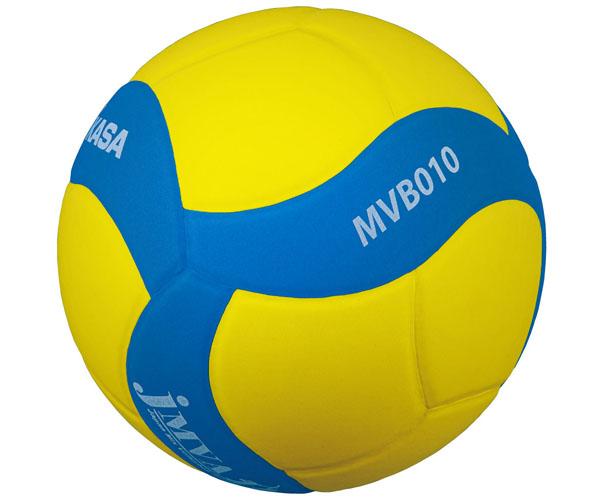 MVB010-YBL 混合バレー協会公式試合球 5号