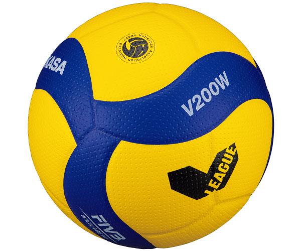 V200W-V バレーボール Vリーグ公式試合球 5号