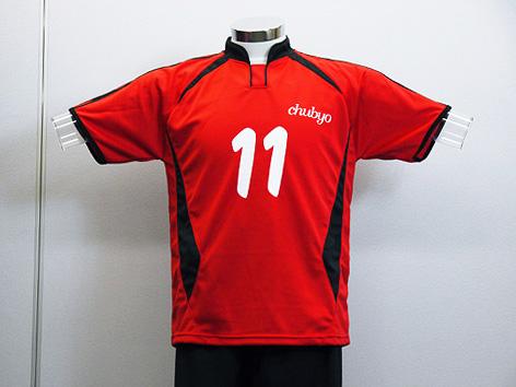 フルオーダーNo.0007 スポーツでは定番の赤×黒