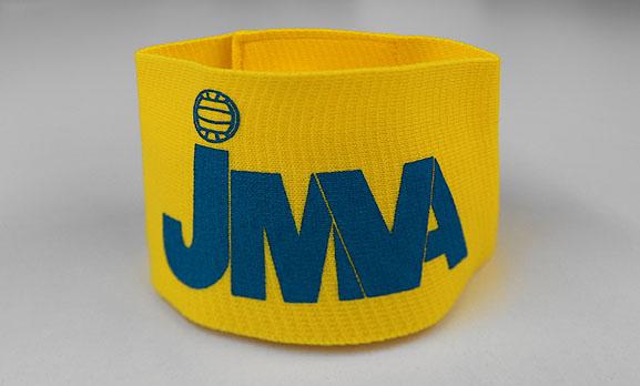 JMVA公認オリジナルキャプテンマーク腕章
