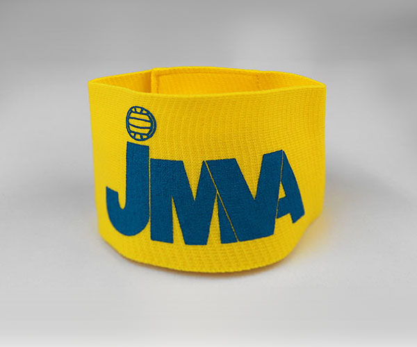 JMVA公認オリジナルキャプテンマーク腕章 黄色