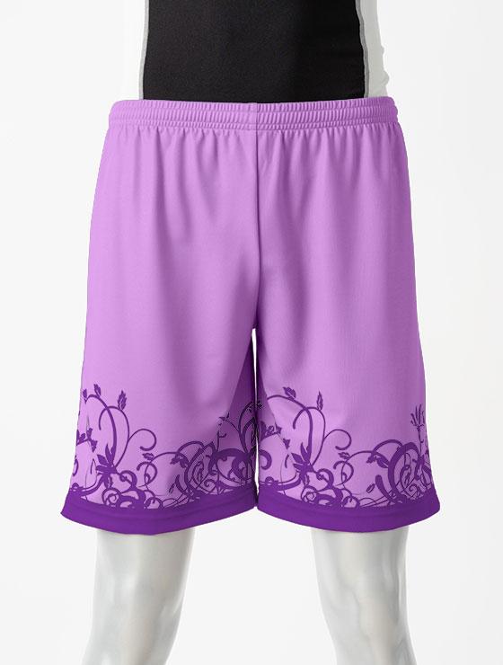 昇華デザイン06ボタニカル 紫