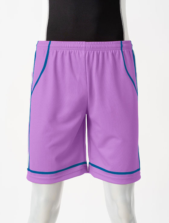 昇華デザイン11ブロックチェック 紫